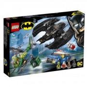 Конструктор Лего Супер Хироус LEGO DC Comics Super Heroes - Batman – батуинг и кражба с Riddler, 76120