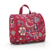 reisenthel - toiletbag XL, paisley ruby