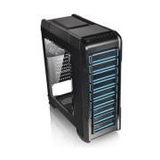 Gabinete Thermaltake Versa N23 con Ventana, Midi-Tower, ATX/Micro-ATX/Mini-ITX, USB 2.0/3.0, sin Fuente, Negro