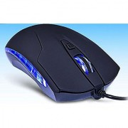 wBest Scroll VMO-93 High Precision 2400 DPI Symmetrical Optical USB Wired Mouse with One Year Warranty