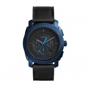 Часовник FOSSIL - Machine FS5361 Black/Blue