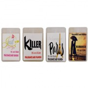 Fragrance And Fashion Just Fou You Romance Evening In paris Killer Edt of 15 Ml Each
