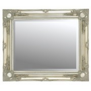Silver Swept 30x20 Bevelled Mirror