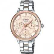 Дамски часовник CASIO SHEEN SWAROVSKI EDITION SHE-3055SPG-4A