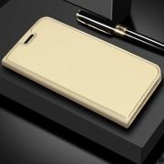Dzgogo ISkin Serie Ligera Frosted PU + TPU Caso De Xiaomi Mi - Max 3 (oro)