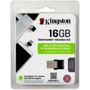 Kingston DataTraveler OTG 16 GB Pen Drive(Black)
