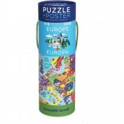 Puzzle + Poster, Descopera Europa