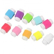 10pcs Protector Saver Cover for iPhone iPad USB Charger Cable Cord (Assorted colour)