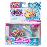 Masinuta Moose Toys Shopkins Cutie Cars S3 Color Change Busy Blender