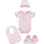 Подарочный набор для новорожденного розовый