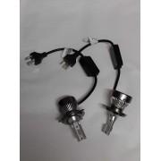 H4 LED Lampen set 6000K 12V 55W 5000LM Per Lamp