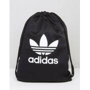 Adidas Рюкзак на шнурке с логотипом-трилистником adidas Originals - Черный