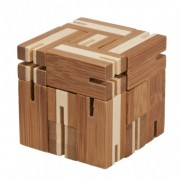 Fridolin Joc logic puzzle 3D din bambus Flexi-cub 4