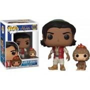 Disney Figura FUNKO Pop! Disney: Aladdin with Abu