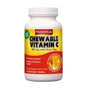 Pharmekal C-vitamin és Csipkebogyó Rágótabletta 90 db