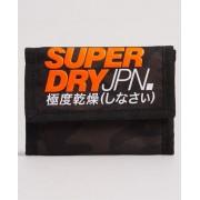 Superdry T Camo Brieftasche mit Klettverschluss 1SIZE Khaki