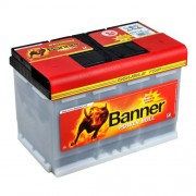Banner 12V 77Ah 680A baterie auto Power Bull Professional cod PRO P7740