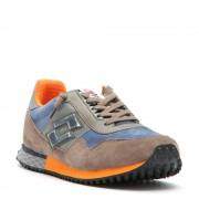 Lotto Sneakers bassa tokyo targa da uomo blu e tortora.