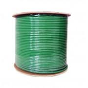 Bobina Cable FTP Categoría 6, 305 metros X-Case Verde .574mm