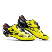 Sidi Shot Carbon Road Shoes - Yellow Fluro/Black - EU 42.5 - Yellow Fluro/Black