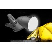 Outdoor LED světlo se skřipcem napájení přes 5000 mAh baterii
