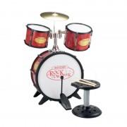 Set de Tobe Drumm Bass cu Scaun Bontempi