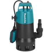 Pompa submersibila pentru apa murdara Makita PF1010, 1100 W, 14400 l/h debit apa, 10 m inaltime refulare, 10 m cablu alimentare