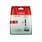 Canon Cartucho de tinta Original CANON CLI-551XL Alta Capacidad Cián para PIXMA iP8750, iX6850, MG5550, MG5650, MG5655, MG6450, MG6650, MG7150, MG7550,...