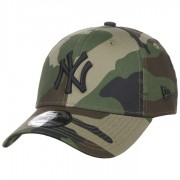 New Era 9Forty League Ess Yankees Cap Basecap Baseballcap Strapback Kappe Yankees MLB Curved Brim