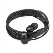 Zoook Rocker Wraps In Ear Wired With Mic Earphones Black