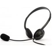 Casti cu microfon Logic LH-20 (Negre)