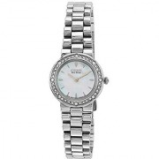 Citizen Eco-Drive Analog White Dial Womens Watch - Ew9820-54D