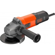 Black & Decker Beg110-Qs Smerigliatrice Angolare Potenza 750 Watt Velocità A Vuoto 12000 Giri/min Disco 115 Mm - Beg110-Qs