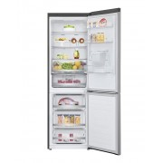 Combina frigorifica LG GBF71PZDZN, Total No Frost, 337 L, Wi-Fi, Afișaj LED, Suport sticle, Smart DiagnosisTM, Dozator de apă, Clasa A++, H 186 cm, Argintiu
