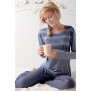 Stars női pizsama, kék
