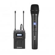 Sistem wireless UHF Boya BY-WM8 PRO-K3 cu Microfon dinamic si Receiver