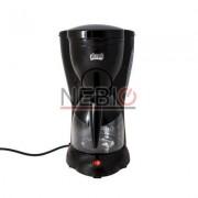 Filtru de cafea Victronic, 1000 W, 12 Cesti, Negru