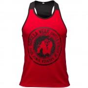 Gorilla Wear Roswell Tank Top - Rood/Zwart - S