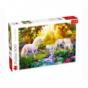 Puzzle Trefl 500 piese peisaj si unicorn