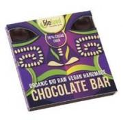 Ciocolata cu 75% Cacao si Chia Raw Bio LifeFood 35gr