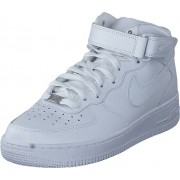 Nike Air Force 1 Mid 07 White, Skor, Sneakers & Sportskor, Höga sneakers, Vit, Herr, 46