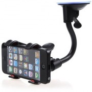 ECellStreet Soft Tube Windshield Dashboard Desktop Car Mobile Holder Stand 360 Degree with Firm Grip