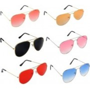 Pogo Fashion Club Aviator, Over-sized Sunglasses(For Boys & Girls)