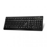 Клавиатура Genius KB-125, черна, USB
