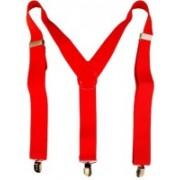 loopa Y- Back Suspenders for Men(Red)