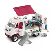 Schleich Horse Club - Mobile Vet With Hanoverian Foal Figure