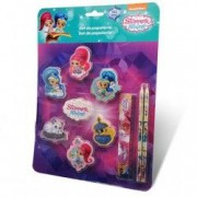 Set de papetarie Shimmer and Shine 10 bucati