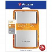 Verbatim Hard Disk Est.Usb 3.0 -500gb- 2.5