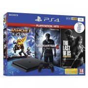 02450980 - GAM SONY PS4 1TB F Ratchet and Clank, The Last of Us, Unch