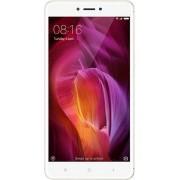 "Telefon Mobil Xiaomi Redmi 4X, Procesor Octa-Core 1.4GHz Cortex-A53, IPS LCD Capacitive Touchscreen 5.0"", 2GB RAM, 16GB Flash, 13MP, Wi-Fi, 4G, Dual Sim, Android (Auriu) + Cartela SIM Orange PrePay, 6 euro credit, 4 GB internet 4G, 2,000 minute nationale"